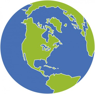 america-globe