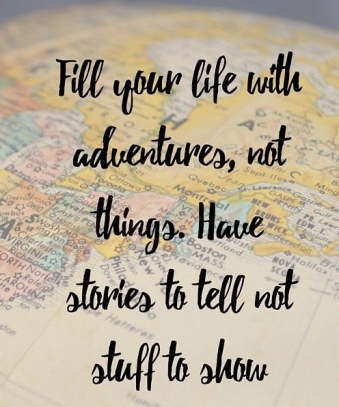Travel Quotes Day Two One Life One World