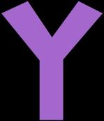 purple-alphabet-letter-y