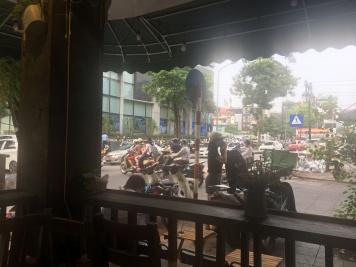 Coffee shop views!